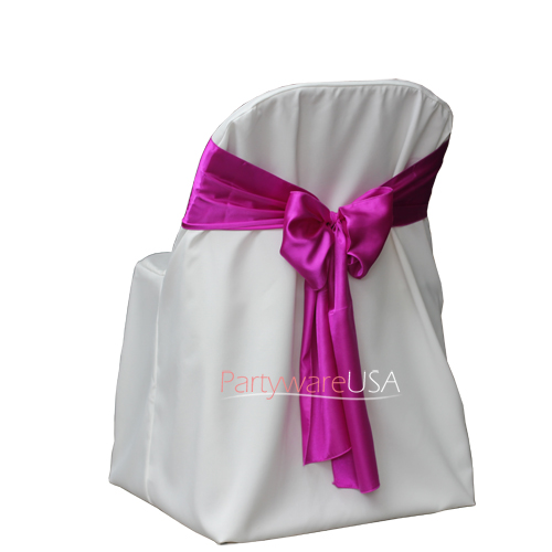 Poly Folding Chair Covers